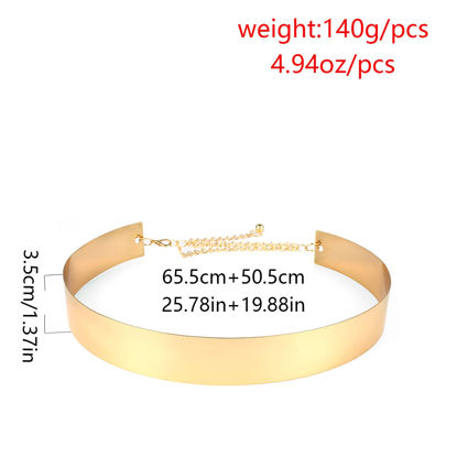 Picture of Women's Waist Chain Solid Color Elegant Belt Accessory