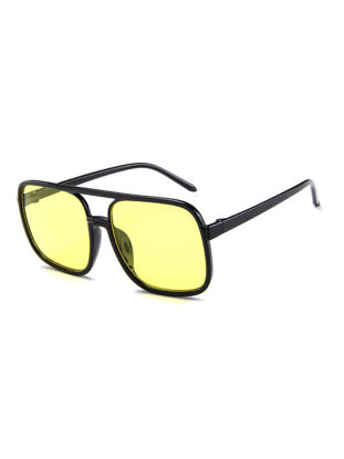 Picture of Men's Sunglasses Simple Style Chic Design Ultraviolet-proof Leisure Glasses Accessory