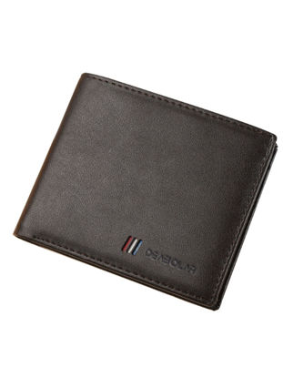 Picture of Men's Purse Ultrathin Portable Multilayer Solid Color Wallet