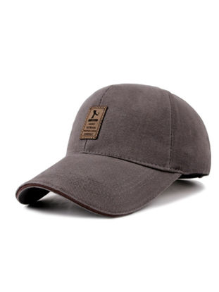 Picture of Men's Hat Solid Color Fashion All Match Baseball Cap