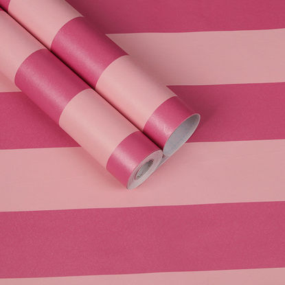 Picture of 1 Roll Wall Sticker Modern Simple Color Block Strip Self-Adhesive Sticker