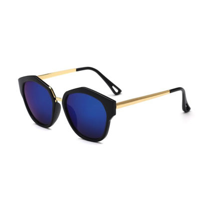 Picture of Men's Newly Designed Comfortable Light Sunglasses Metallic Frame Outdoors Eyes-protected Sunglasses