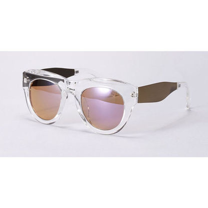 Picture of Men's Newly Designed Sunglasses Large Metallic Frame Eyes-protected Sunglasses
