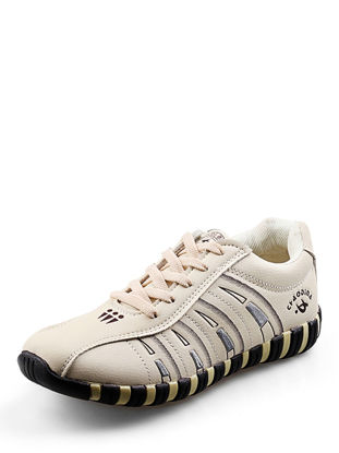 Picture of Women's Sports Shoes Retro Striped Stylish Breathable Outdoor Shoes