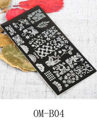 Picture of One Piece Nail Art Pattern Template Salon Professional Nail Design Tool