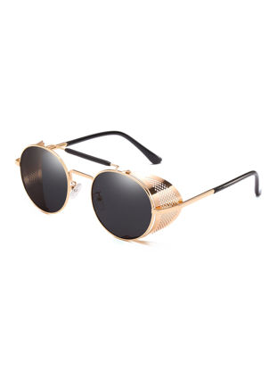Picture of Men's Sunglasses Retro Style All Match Creative Design Sunglasses Accessory
