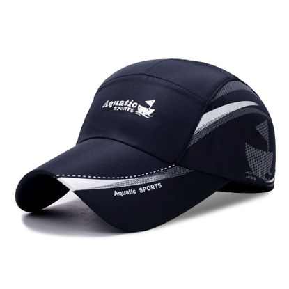Picture of Men's Baseball Cap Letter Printed Sun-proof Outdoor Accessory