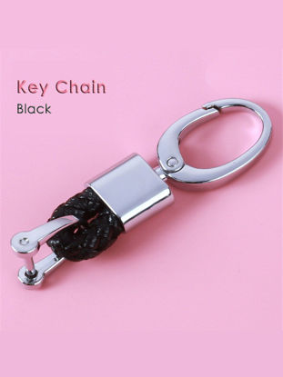 Picture of CHSKY Car Keychain Universal Styling Key Ring Auto Car Key Chain Rings Holder