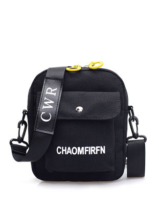 Picture of Women's Crossbody Bag Casual Style Letter Pattern Stylish Canvas Bag