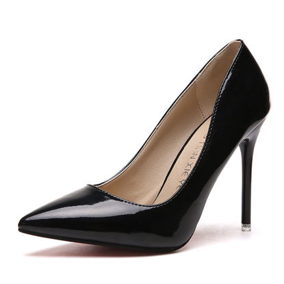 Picture of Women's High-Heeled Pumps Pointed Toe Stylish Thin Heel Shoes