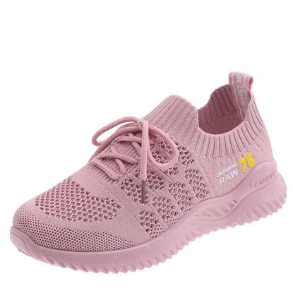 Picture of Women's Sports Shoes Damping Comfy Breathable Solid Color Shoes