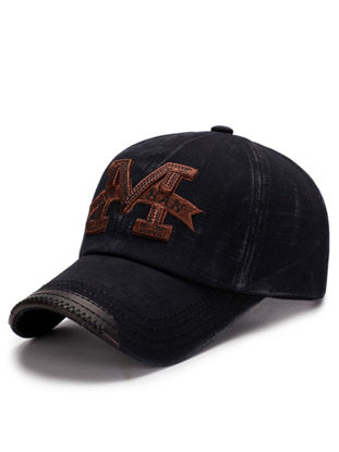 Picture of Men's Baseball Cap Letter Embroidery Causal Sun Block Sports Hat Accessory