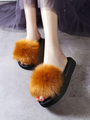Picture of Women's Open Toe Slippers Soft Anti-skid All Match Vogue Shoes