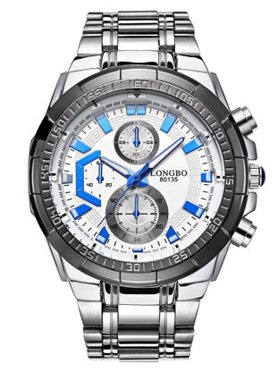 Picture of Men's Quartz Watch Casual Sports Round Dial Durable Watch Accessory