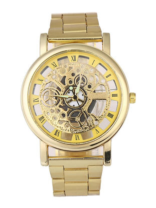 Picture of Men's Watch Creative Hollow Out Round Dial Stylish Watch Accessory