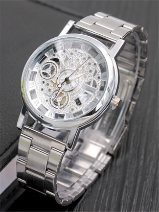 Picture of Men's Watch Hollow Out Trendy Business Quartz Watch Accessory