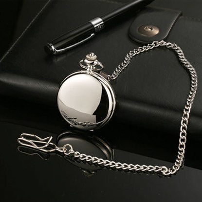 Picture of Men's Pocket Watch Pointer Display Vintage Watch Accessory