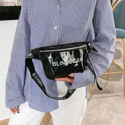 Picture of Women's Waist Bag Fashion Print Casual Bag