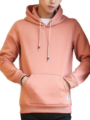 Picture of Men's Hoodie All Match Casual Comfy Hoodie