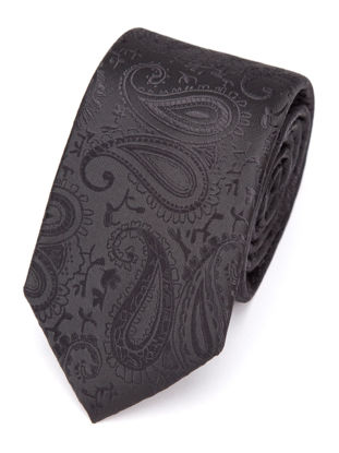 Picture of Men's Tie Fashion Business Stylish Floral Pattern Accessory 6cm Wide