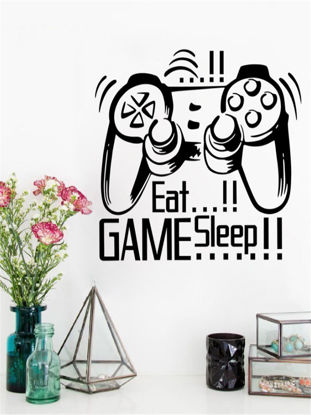 Picture of Wall Sticker Game Machine Control Removable Creative Wall Decoration
