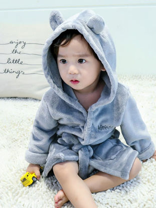 Picture of Kid's Pajama Solid Color All Match Comfy Pajama