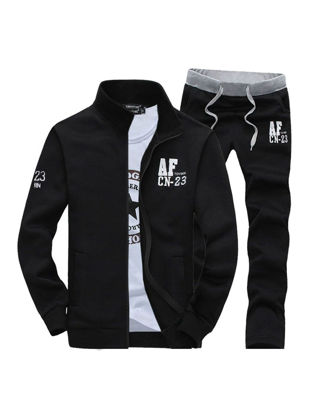 Picture of Men's Activewear Sets 2Pcs Simple Fashion High Quality Casual Suits