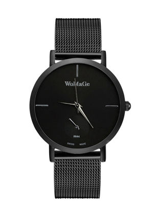 Picture of Men's Simple Watch Numbers Display Casual Quartz Wristwatch