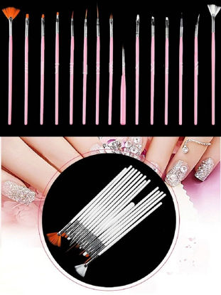 Picture of Nail Painting Phototherapy Pen Set Nails Salon Light Therapy Pens (15 pieces)