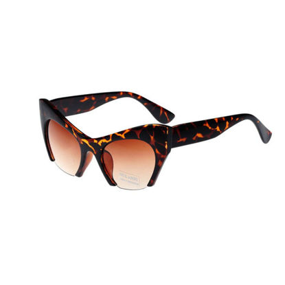 Picture of Men's Newly Designed Fashion Sunglasses Half Frame Outdoors Eyes-protected Sunglasses
