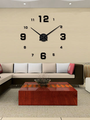 Picture of Wall Clock Simple Style Numbers Acylic Decorative Home Wall Decor Clock