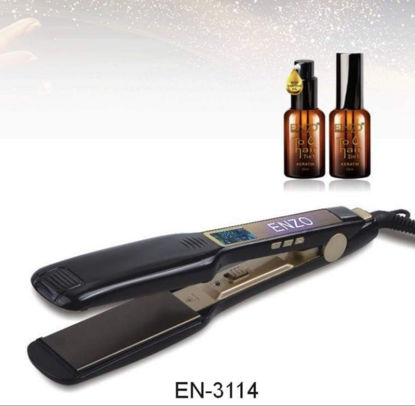 Picture of ENZO hair straightener with serum En-3114