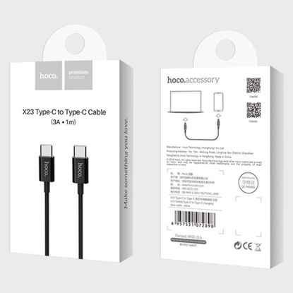 Picture of HOCO X23 Type-C to Type-C Cable