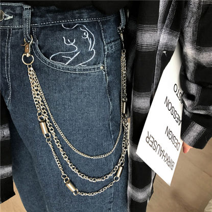 Picture of Women's Chain Multi-Layer Design Punk Style All Match Chain Accessory