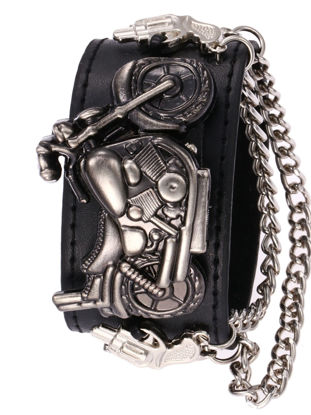 Picture of Men's Quartz Watch Punk Style Skull Cover Design Personality Wrist Watch