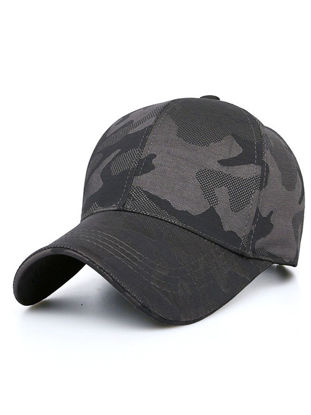Picture of Men's Hat Fashion Simple Camouflage Casual Breathable Baseball Cap