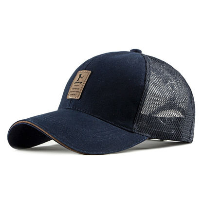 Picture of Unisex Hat Patchwork Breathable Fashion All Match Baseball Cap