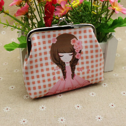 Picture of Women's Coin Purse Girl Printed Light Change Purse