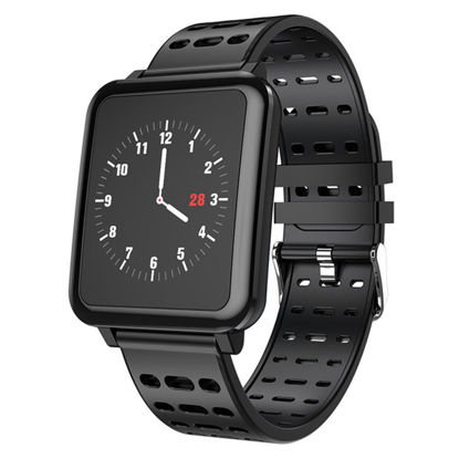 Picture of Q8 Smartwatch IP67 Waterproof Wearable Device Bluetooth Pedometer Heart Rate Monitor Color Display Smart Watch