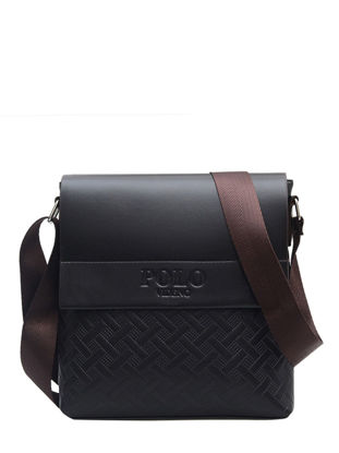 Picture of Men's Crossbody Bag Simple Fashion Solid Color All Match Bag