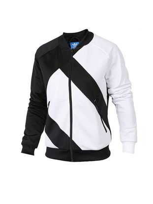 Picture of [100% Genuine]Adidas Women's Jacket Comfy Wearable Casual Style Contrast Color Sports Coat