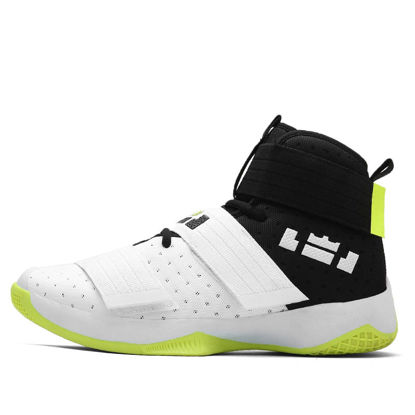 Picture of Men's Training Shoes outdoor Anti-skidding Patchwork Wearable Basketball Shoes