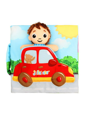 Picture of Jollybaby Kid's Cloth Book Early Education Durable Fun Recreational Toy