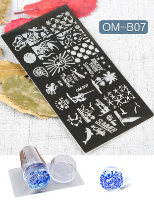 Picture of Beginner Nail Pattern Molds Fashion Nails Tools Manicure Tools
