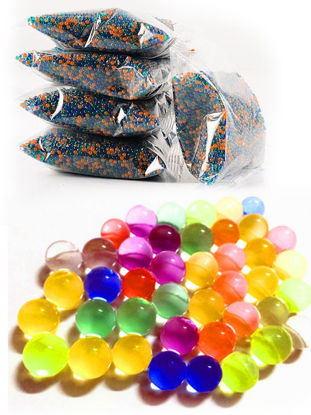 Picture of 10000 Pcs Crystal Shells Prank Water Gun Bullets Toy