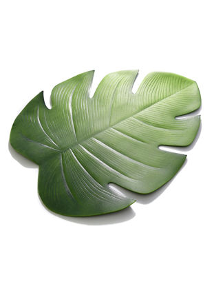 Picture of Placemat Tropical Palm Leaf Insulated Non-slip Waterproof Table Mat