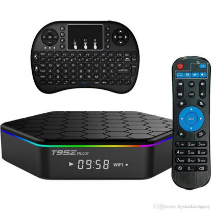 Picture of T95Z Plus S912 Octa-core CPU Android 6.0 TV Box 2GB/16GB With Mini i8 Wireless Keyboard Touchpad