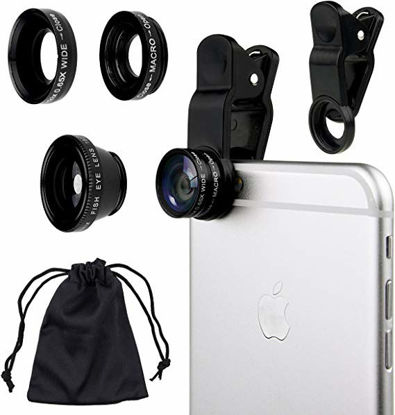 Picture of 3-In-1 Universal Clip Lens Black