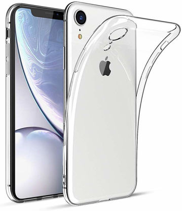 Picture of iPhone XR Slim Flexible TPU Protective Case Cover - Clear