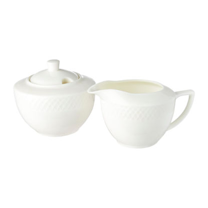 صورة  SUGAR BOWL 11 OZ | 340 ML & CREAMER 9 OZ | 280 ML  IN GIFT BOX